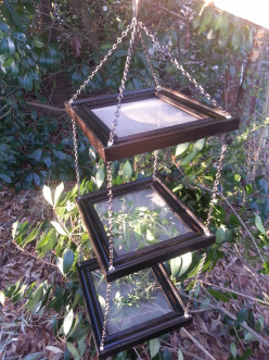 DIY Herb Dryer Out of Old Picture Frames
