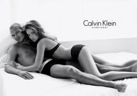 Calvin Klein company loves to use hot models to advertise its products.