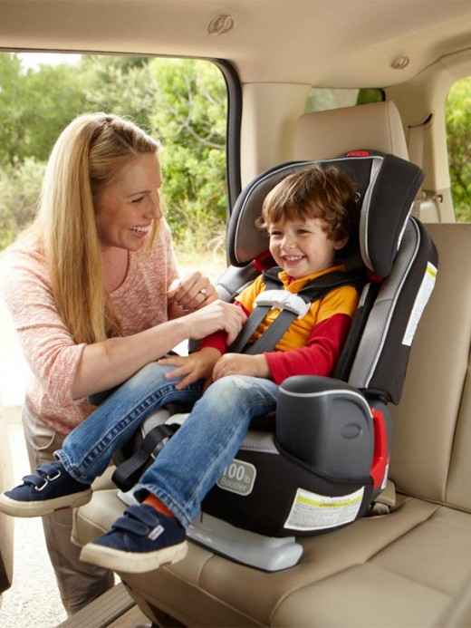 Graco Nautilus 3-in-1 Forward Facing Car Seat