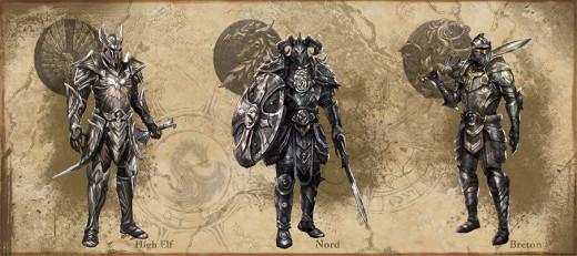 The Elder Scrolls: Concept Art on Heavy Armor
