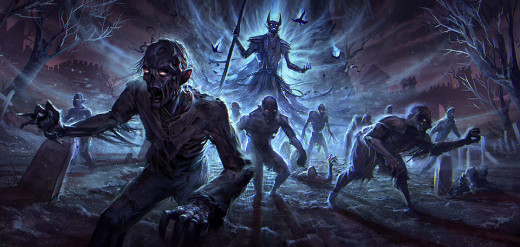 Another piece of Gaming History, one of the first images to be disclosed about The Elder Scrolls Online