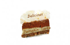 Pumpkin Tort:  An Alternative to Pumpkin