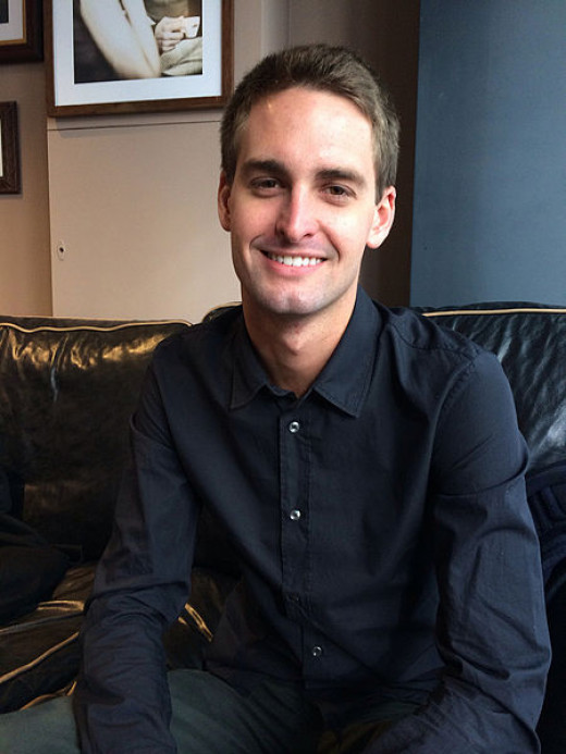 Even Spiegel, co-founder of Snapchat