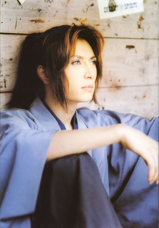 Gackt in traditional garb