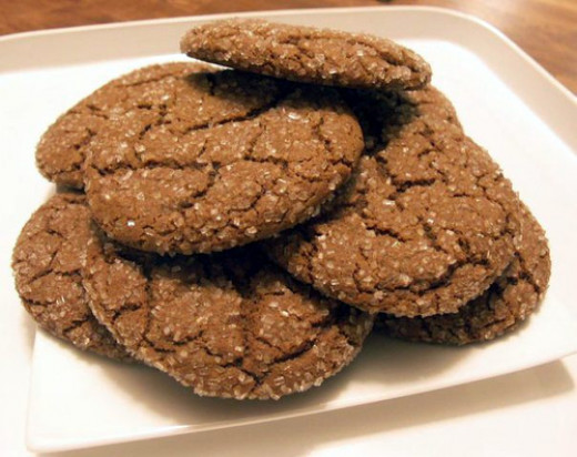 Healthy Molasses Cookies - High in B Vitamins