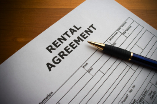 Always read the contents of the rental agreement carefully and don't be afraid to negotiate terms with a landlord.
