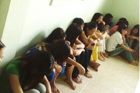 Trafficking victims in Vietnam