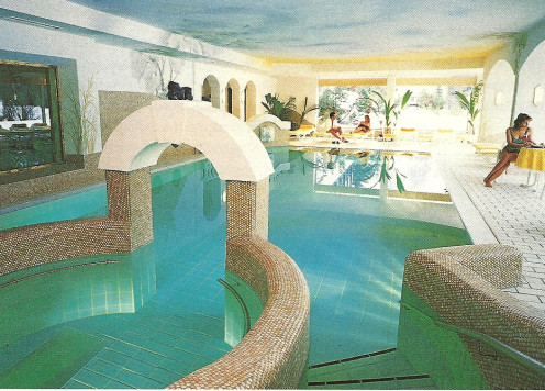 The highest-altitude thermal salt water spa in Germany.