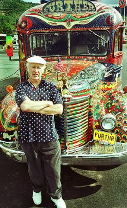 "The Merry Pranksters' Psychedelic Bus, ""Furthur"""