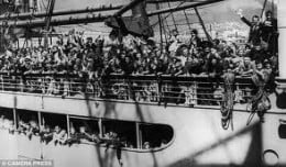 They didn't all make it.  The U-boat captains saw only a British Liner, not a ship evacuating a thousand children.