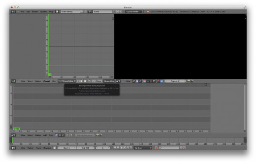 Using Blender as Video Editor