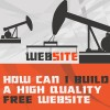 How can I build a high quality free website
