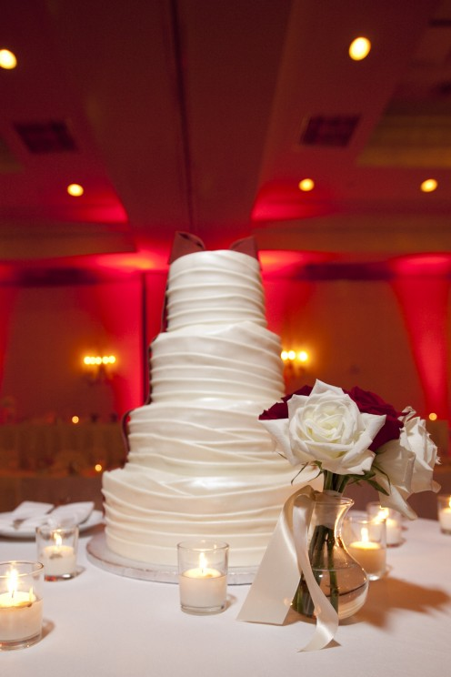 Wedding Cake, Included at the Marriott