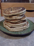 Homemade Old Fashioned Wheat Pancakes