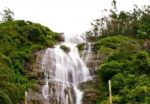 The Power House Waterfalls In Chinnakanal.