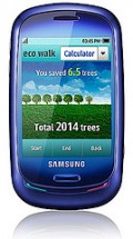 The Eco Walk pedometer tells you how much CO2 is saved by walking.