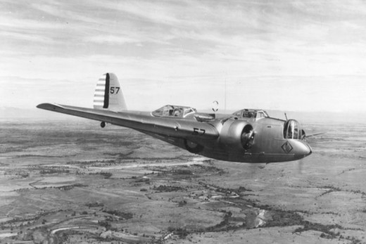 The definitive version of the Martin Bomber, the B-10B