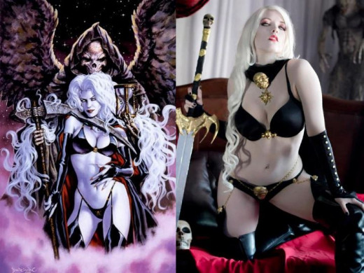 Lady Death Costume History