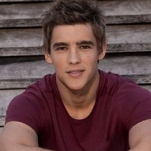 "Australian actor, Brenton Thwaites plays Jonas in the film, ""The Giver."""