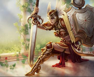 Valkyrie Leona, League of Legends, copyright Riot Games, Inc.
