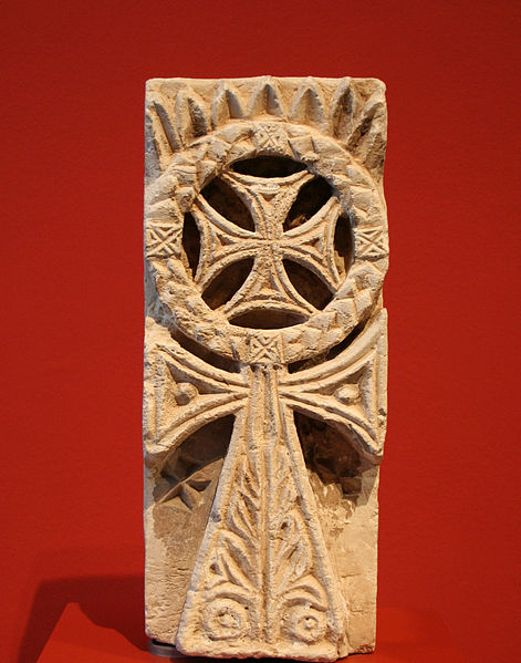 Coptic Cross Relief Roemer- und Pelizaeus-Museum, Hildesheim