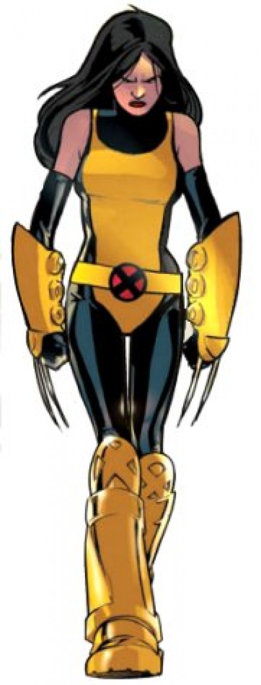 X-23 X-Men Training Uniform with HUGE Gauntlets