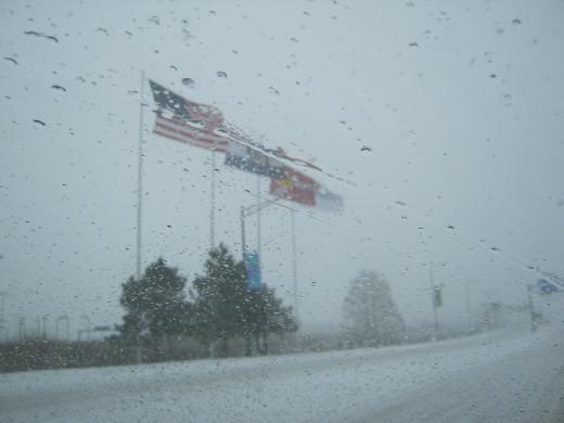 Visibility at Lambert Airport, St Louis, Missouri