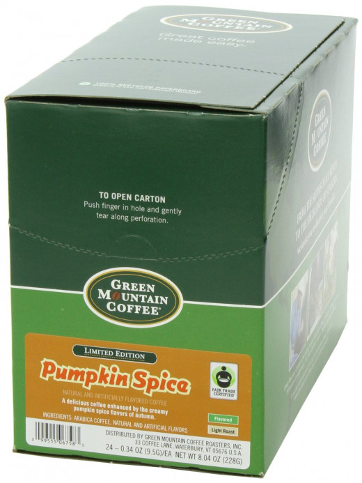 Surprising what pumpkin spices can bring to good coffee!