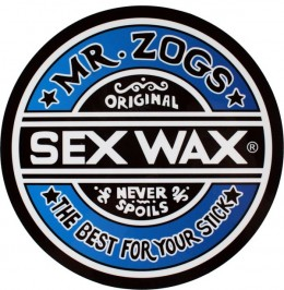 The most famous wax brand is SEX WAX.