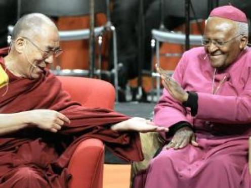 Archbishop Desmond Tutu and the Dalai Lama