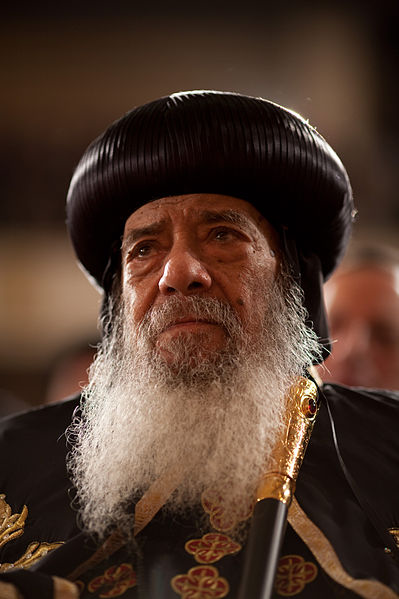 Pope Shenouda III, The Coptic Orthodox Christians' Pope in Egypt