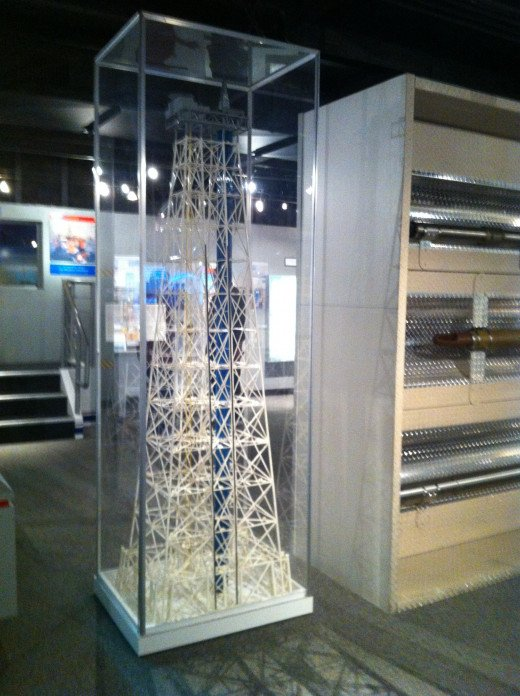 Oil Rig Display