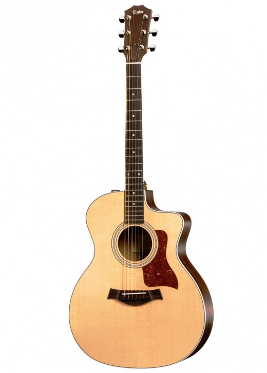 The Taylor 214ce is one of the best acoustic-electric guitars you'll find for under $1000.
