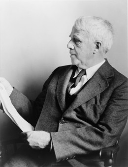 Robert Frost, 1941.