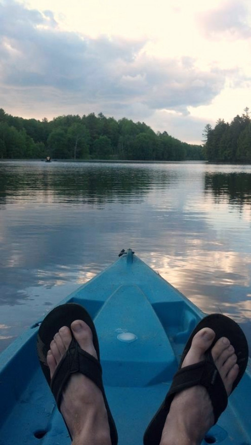 Kayak on Martin Pond