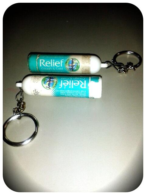 My addicting Nose inhalers
