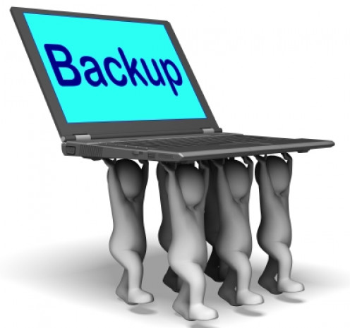 Its very important to double-check that you are backing up everything that you need to