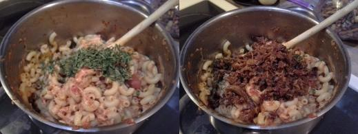 Step Nine: Now add your parsley; The amount will generally be personal preference, Step Ten: Add in your chopped leftover ham