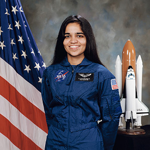 Kalpana Chawla,First Indian Woman In Space
