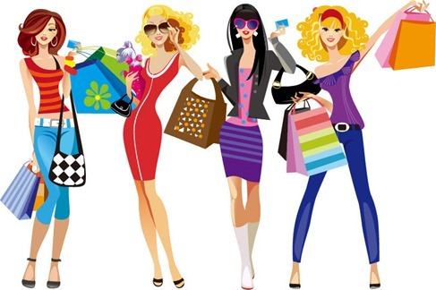 With your online income can you go shopping with the girls?