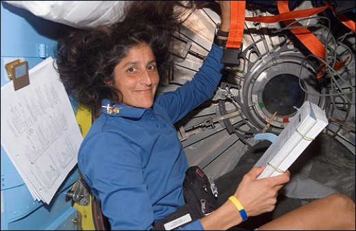 Sunita Williams,World's First Woman  To Run Marathon In Space