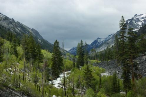 Blodget Canyon, Bitterroot Valley, Montana