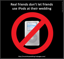 Why an 'iPod Wedding DJ' is a Terrible Idea