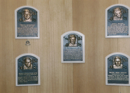 The Inaugural Induction Class into Cooperstown