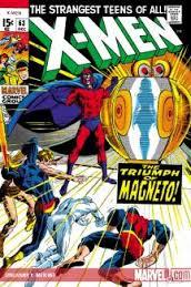 Adams cover art for X-Men # 63