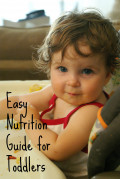 Easy Nutrition Guide for Toddlers