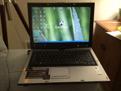 Laptop with Internet access