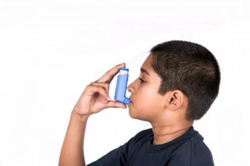 Using an asthma inhaler