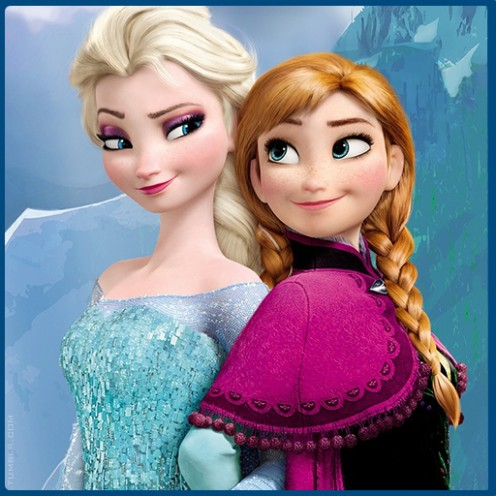 Elsa And Ana Frozen Picture From Amazon.com
