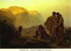Job and His Friends, Ilya Repin (1844-1930)